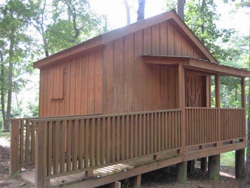 Primitive camping not for you? There are also 8 RV campsites and 2 cabins at the park.