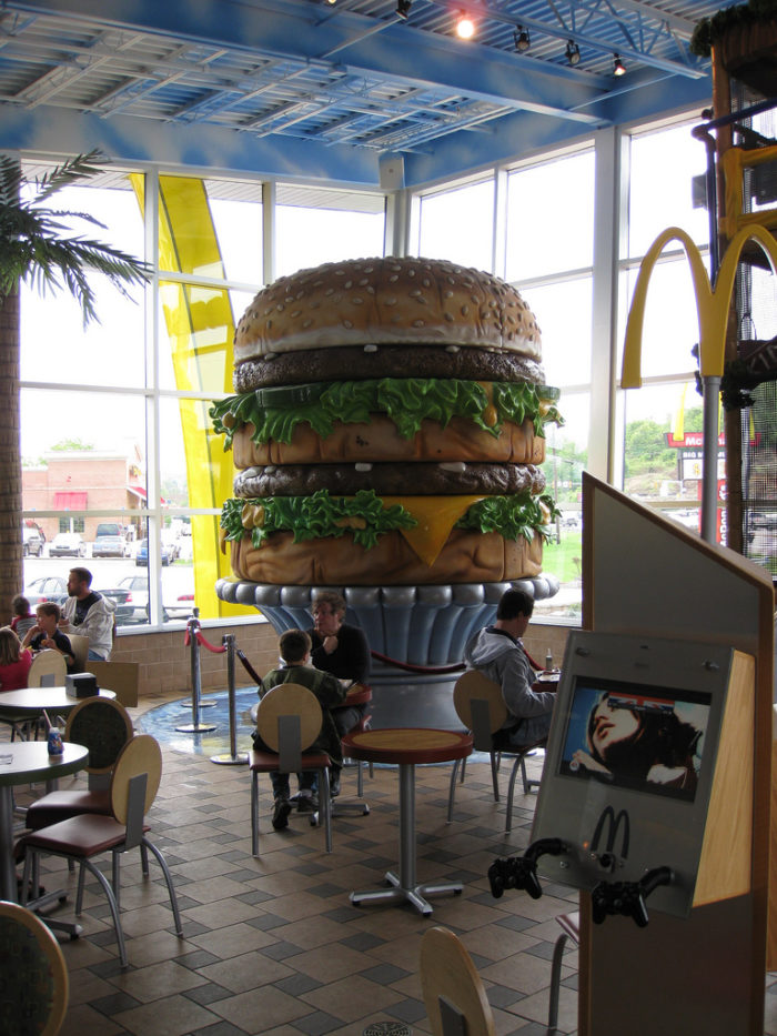 7. You have taken a selfie with the World's Largest Big Mac.