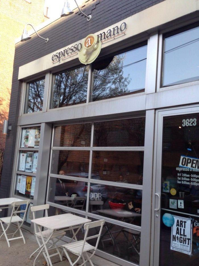 6. Espresso A Mano - 3623 Butler Street