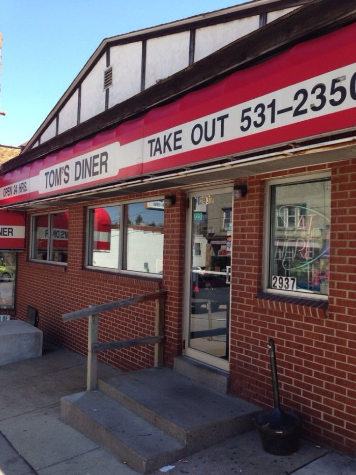 7. Tom's Diner - 2937 West Liberty Avenue