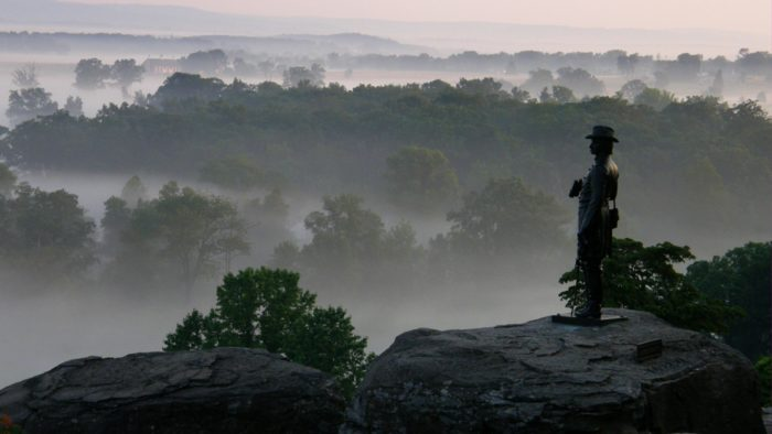 We know from living here that it's not out of the ordinary for this area of Pennsylvania to be foggy, but many have claimed to experience mysterious things when the fog rolls into Gettysburg National Military Park.