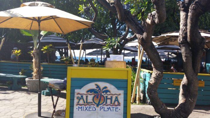 7. Aloha Mixed Plate, Lahaina