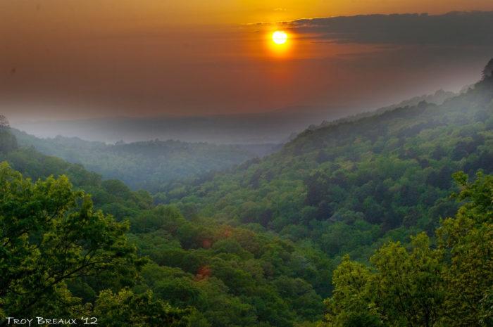 6. Explore Arkansas's oldest state park on Petit Jean Mountain.
