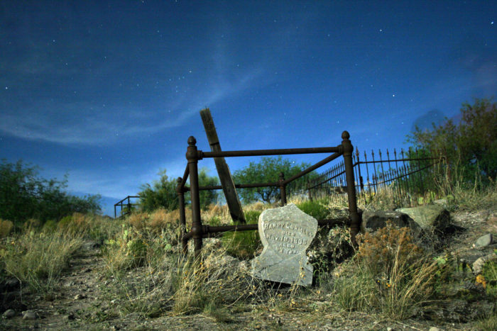 3. Old Miners Cemetery, Jerome