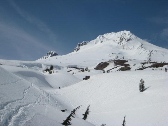 7. Ski on Mt Hood.
