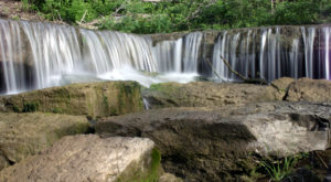 This Magical Waterfall Campground In Kansas Is Unforgettable