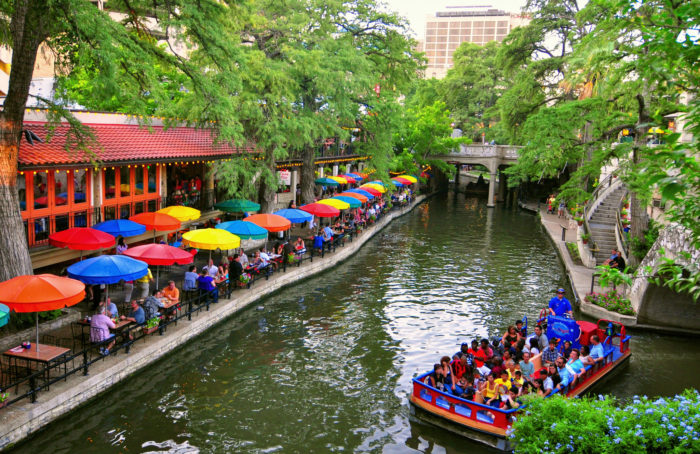 Because the River Walk pulls off a perfect balance between romance and the upbeat, celebratory nature of Mexican culture...