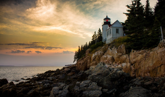 All six of the New England states were included in the Top 10 safest states to live in!