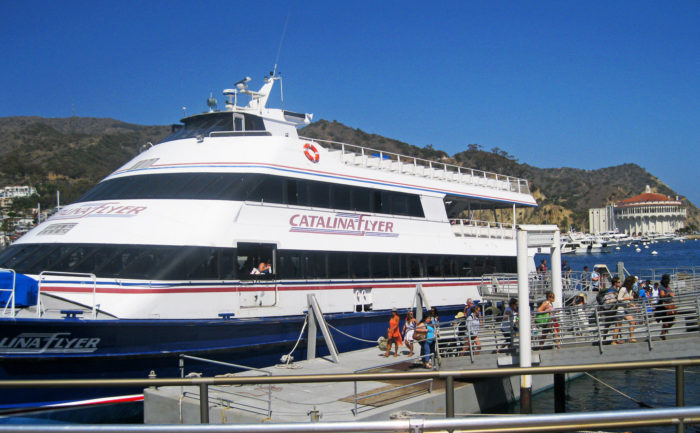 Do what the rest of us do and take a relaxing ferry. There are three spots to catch a ferry to Catalina Island -- Long Beach, Dana Point, and San Pedro. Just pick the location closest to you and you're on your way to experience a day trip of a lifetime!