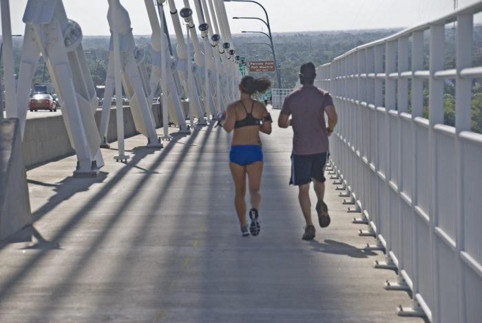 11. Visit another major South Carolina landmark: the Ravenel bridge in Charleston.