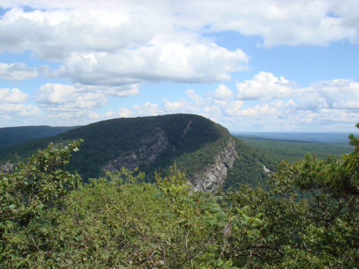 View Of Mount Tammany
