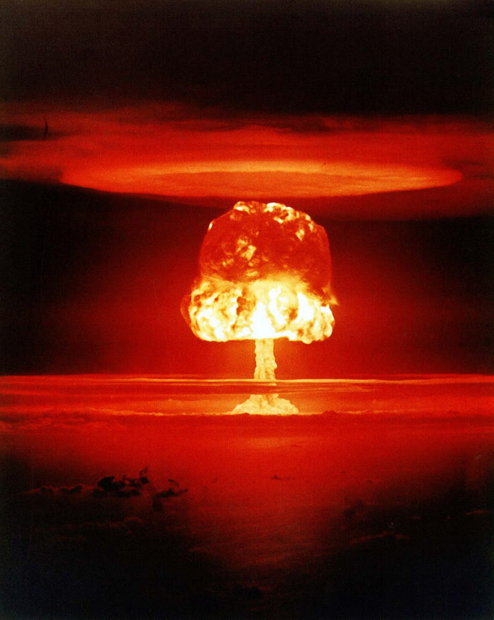 7. It's one of five states that has tested nuclear weapons.