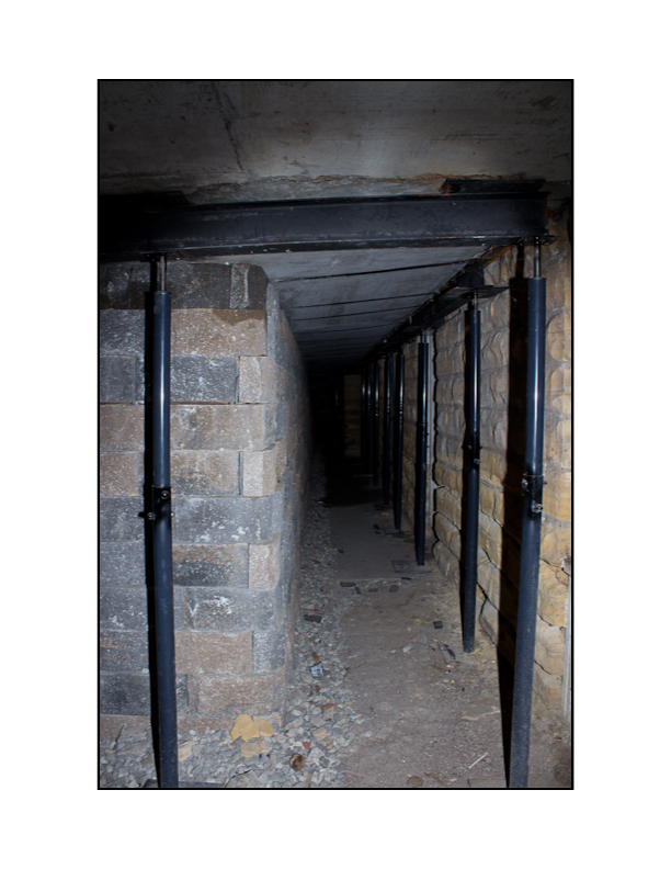 Located beneath Ellinwood's Historic Wolf Hotel is an abandoned underground city that was once home to thriving brothels, bars, gambling, barber shops, and even a harness store.