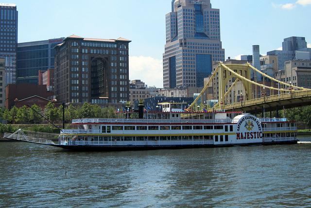 8. Climb aboard the Gateway Clipper Fleet.
