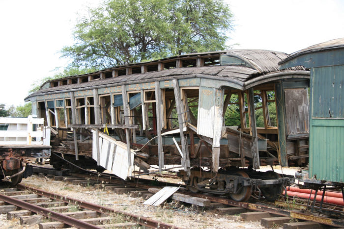 8. Abandoned Train, Hawaiian Railway Society