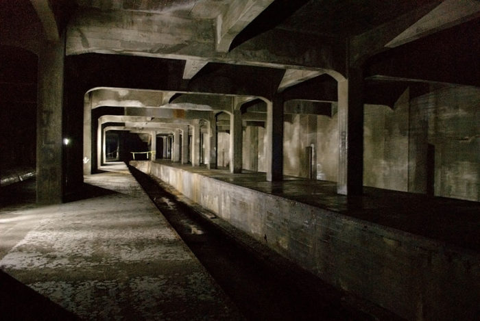 9. Cincinnati's abandoned subway