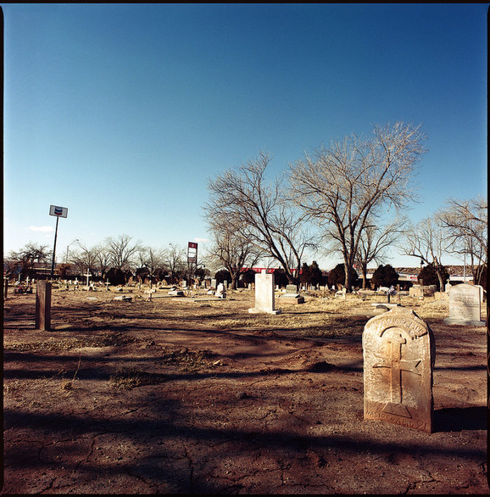 6.  Any old graveyard.