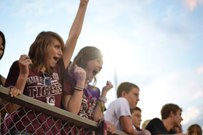 13. You LIVED for Friday night football games.