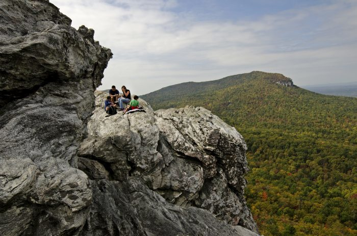 13. Moore's Wall Loop Trail, Hanging Rock State Park