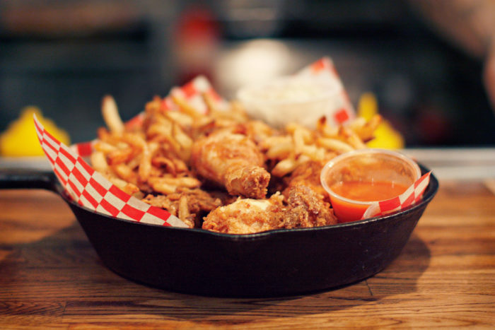 11. Complain about the calories in your fried chicken.