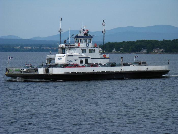 17.  Soar across Lake Champlain on the ferry boat.
