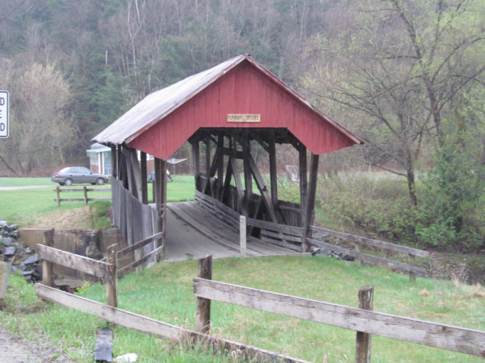 5.  Randall Covered Bridge, Lyndon