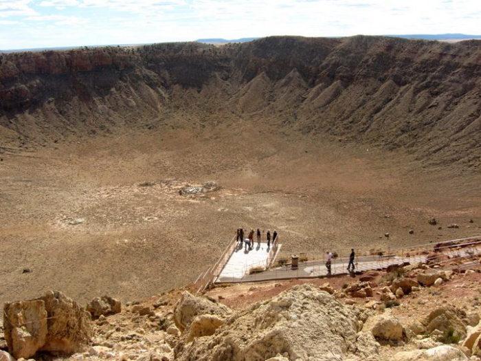 8. Meteor Crater