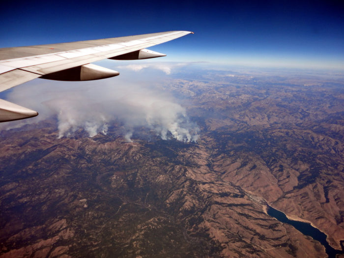Even today, climate scientists believe that the inferno could be seen from space.