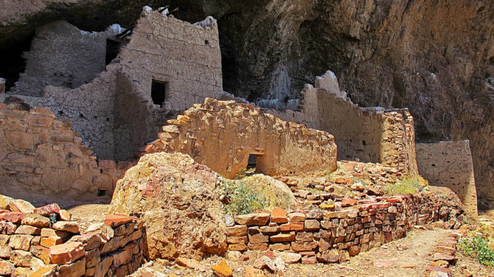 7. Or perhaps a long abandoned cliff dwelling?