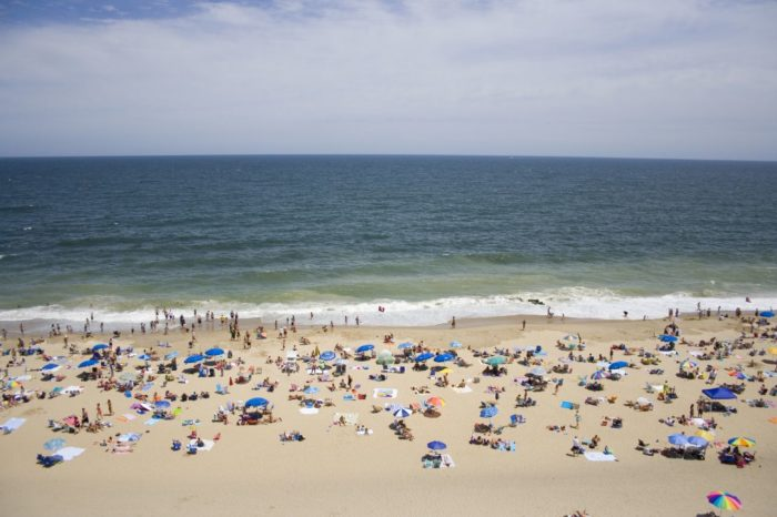 Beach goers gather at many of our bay and ocean beaches, like Rehoboth, for their cleanliness.
