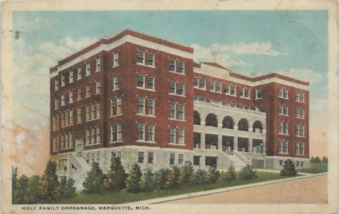 6. Holy Family Orphanage (600 Altamont Street, Marquette)