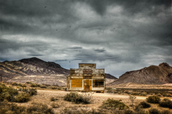 3. Take a trip to the past and visit one of the many Ghost Towns you can find throughout Nevada!