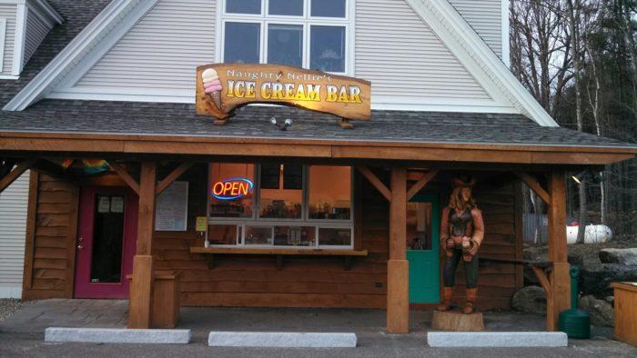 Naughty Nellie's Ice Cream Bar, Andover