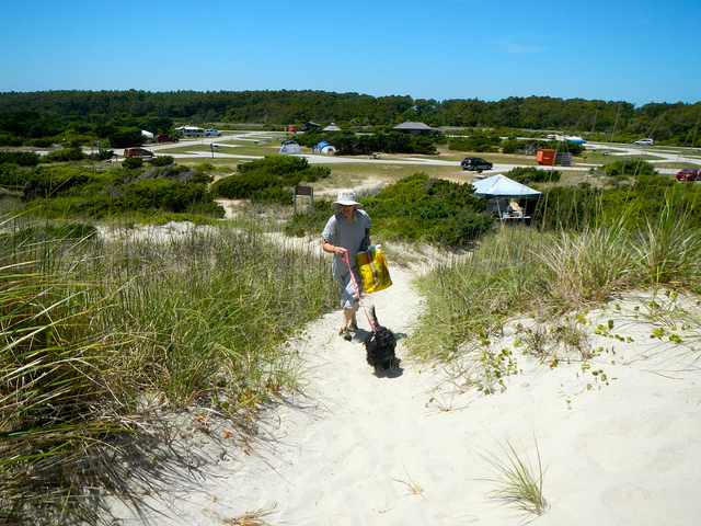 2. Ocracoke Campground