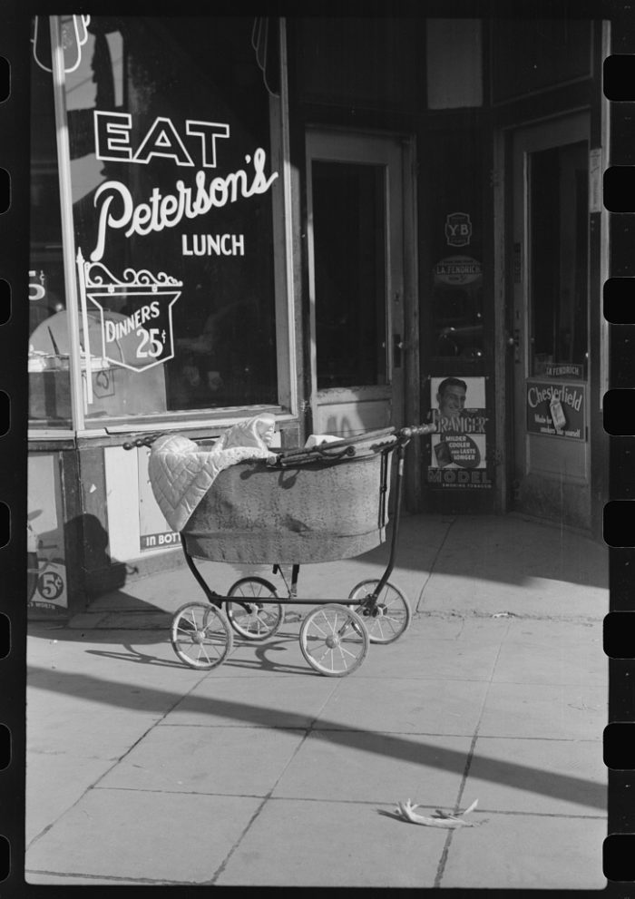 1. The local diner in 1930s Aberdeen. Can you believe an entire dinner was 25 cents then?