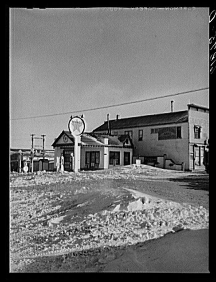 5. A Texaco gas station in Jones County, SD