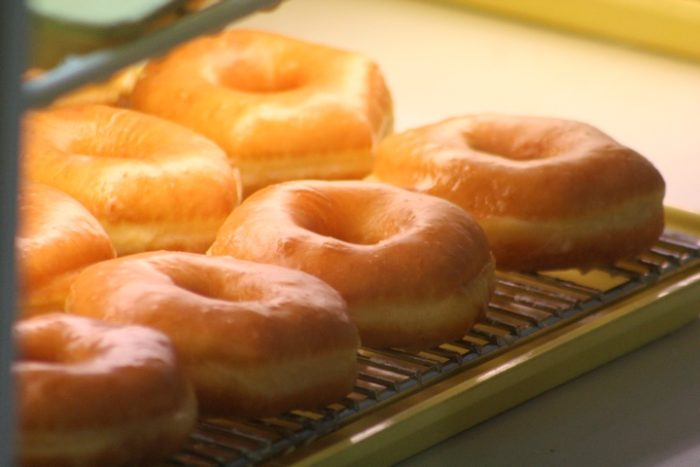 The recipe, which was created by the Mohlers, includes potato flour, resulting in one-of-a-kind donuts.