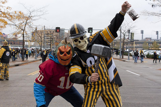 9. You stand in line for hours to snag playoff tickets for the Pens, the Steelers, or the Buccos.