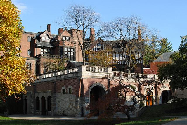 9. Chatham University's Woodland Hall