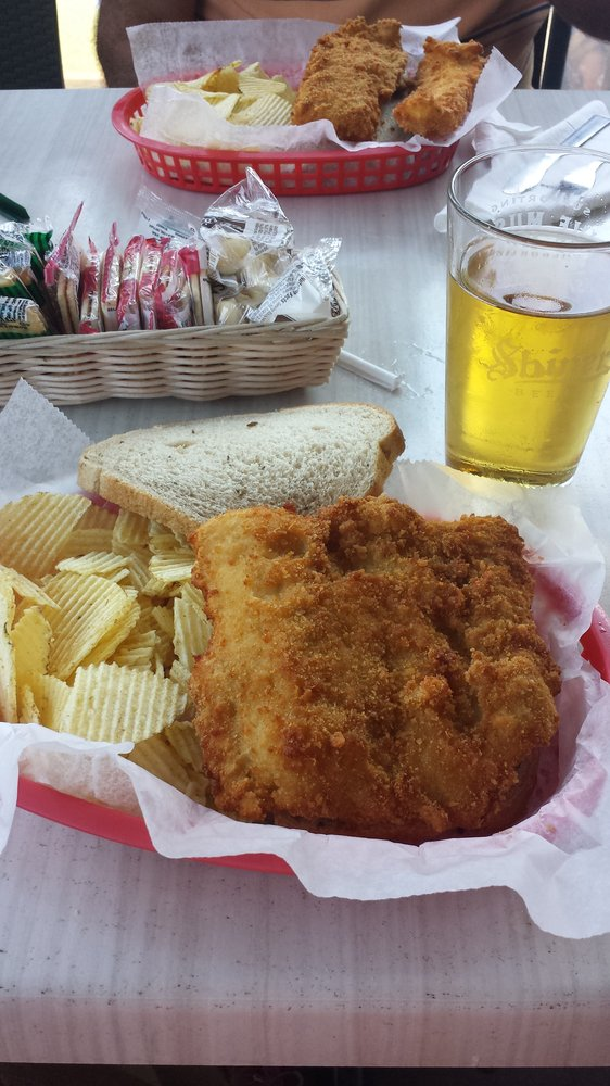 9. Cunningham's fish sandwich. Timothy H