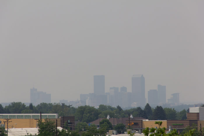 10. You woke up, and for a second you thought you were in Shanghai or L.A. - only to realize that rather than smog it was smoke from a forest fire.