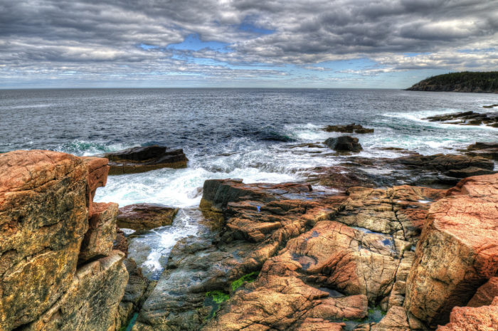 Stop #12: Go out with a bang at Acadia's Thunder Hole.