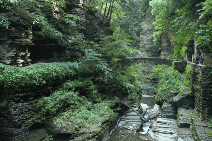 The state park features nearly 10-miles of hiking trails.