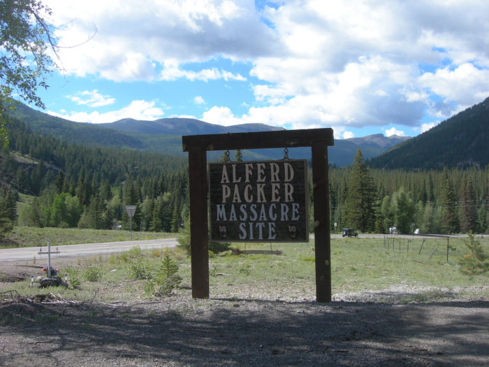 6. Alferd Packer Massacre Site