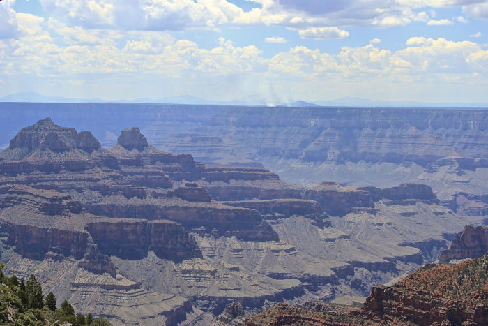 7. Transept Trail at the Grand Canyon