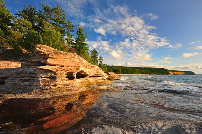 1. Pictured Rocks National Lakeshore (Munising)