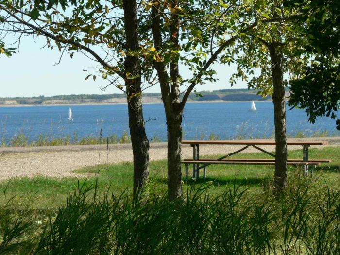 7. Lake Sakakwea