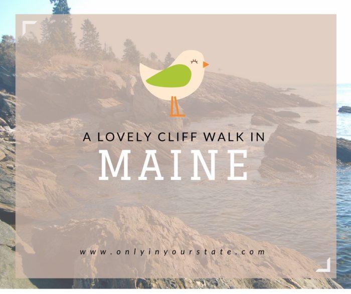 A LOVELY CLIFF WALK IN