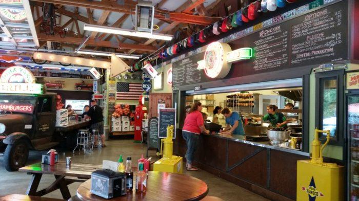 6. Nutty's Junk Yard Grill, Arlington