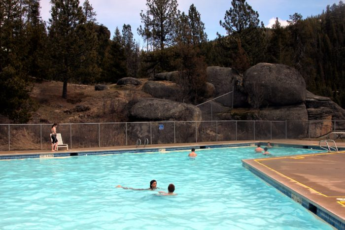 5.  Soak your tired muscles at Lolo Hot Springs.
